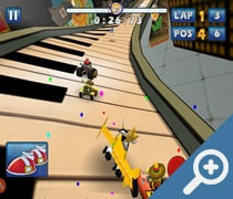 Sonic & Sega All-Stars Racing скриншот, screen