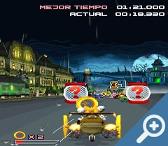 Sonic & Sega All-Stars Racing Java скриншот, screen
