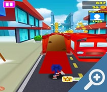 Sonic Crash Dash скриншот, screen