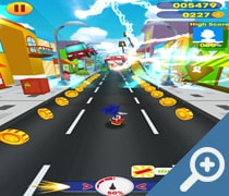 Sonic Flash Speed Fever скриншот, screen