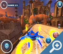 Sonic and SEGA All-Stars Racing Transformed скриншот, screen