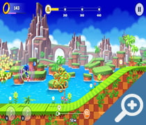 Sonic Runners Adventure скриншот, screen