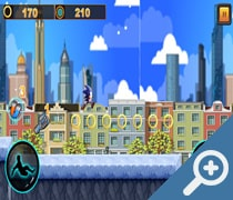 Subway Sonic Jump Run скриншот, screen