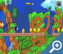 Subway Sonic Running Adventures скриншот, screen