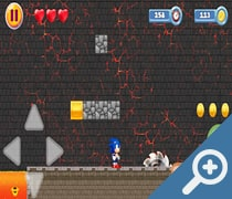 Super Adventure of Sonic скриншот, screen