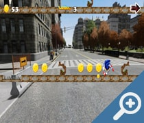 Super Sonic GTA Run  скриншот, screen