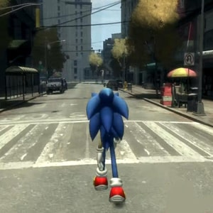 Super Sonic GTA Run