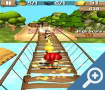 Super Sonic Jungle Adventure Run скриншот, screen