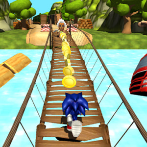 Super Sonic Jungle Adventure Run